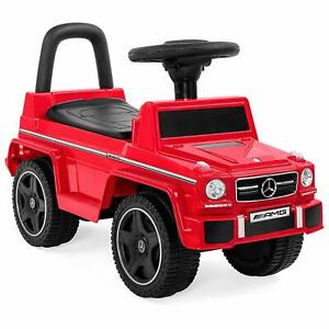 Mercedes Benz G63 AMG Wagon Kids Ride-On Push Car Toddler Foot To Floor Ride On