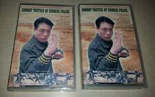 Combat Tactics of Chinese Police Jing Quan Dao Master Alexander Tao Vol 1-2 VHS