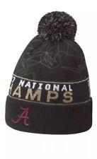 834c16a77d3 Nike Alabama Crimson Tide 2017 NCAA Championship Pom Knit Beanie OSFM Hat