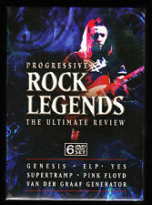 PROGRESSIVE ROCK LEGENDS - THE ULTIMATE REVIEW - 6 DISC NEW & SEALED R2 DVD SET