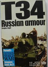 Livre militaire en anglais T 34 Russian armour de Douglas Orgill