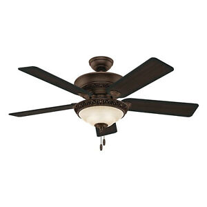 Hunter Fan Company 53200 Italian Countryside Ceiling Fan with Light, P.A. Cocoa