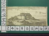 c1790 ANTIQUE PRINT ~ VIEW OF STERLING CASTLE ~ SCOTLAND