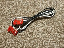 """Scalextric Classic """"Mitchies"""" Track Power Boost Cable (BW)"""