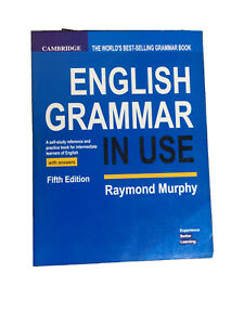 Cambridge English Grammar In Use With Answers, Fifth Edition, In News Print.