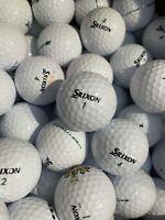 24 Srixon Soft Feel Golf Balls 2 Dozen Not Lake Balls