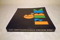 Katalog, Ausstellungskatalog: Freie Berliner Kunstaustellung 1976, 396 Seiten