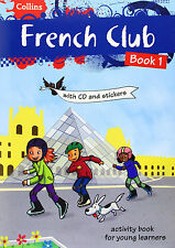 French Club Book 1 with CD and Stickers by Rosi McNab - Kids learn French