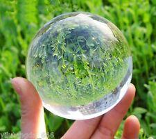 60mm Asian Rare Quartz Clear Magic Crystal Healing Ball Sphere