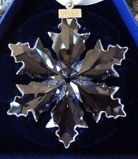 Swarovski 2014 Christmas Snowflake Star Ornament Crystal - Large  - 5059026