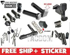 Strike Industries BLACK Enhanced Parts - Mspec Lower W Logo Pivot Pin oops #1