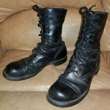 Vintage Corcoran leather jump boots 11 1/2   military combat usa good look