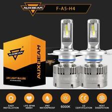 AUXBEAM CREE H4 9003 70W LED Headlight Conversion Kit Hi/Lo Bulbs 6000K White