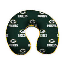 Green Bay Packers U-Shaped Travel Relaxation Polyester Neck Pillow-FREE SHIPPING