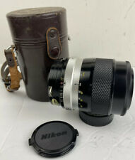 Nikon NIKKOR-Q Auto 1:28 f=135mm Lens with Nippon Hard Shell Case Fast Shipping