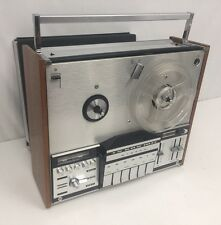 Vintage Grundig Ts 600 Reel To Reel Tape Player Recorder With Cover