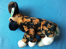 "AFRICAN WILD DOG 12"" Tall Plush Cuddlekins Wild Republic 2014"