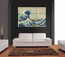 GREAT WAVE KANAGAWA GIGANTE Wall Art Print PICTURE POSTER