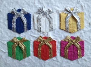 25 Gifts presents Package present Diecut Mulberry Paper Christmas birthday