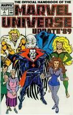 Official Handbook of Marvel Universe (Vol. 3, update '89) # 5 (USA, 1989)