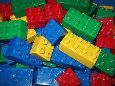 LEGO DUPLO 60 X BAUSTEINE Haufen Steine Bausteine DUPLOSTEINE STARTERPAKET