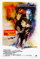 Hanover Street Harrison Ford movie poster print
