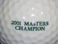 (1) TIGER WOODS 2001 MASTER CHAMPION LOGO GOLF BALL
