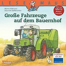 LESEMAUS, Band 30: Große Fahrzeuge auf dem Bauernhof von... | Buch | Zustand gut