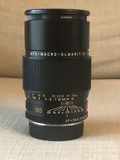 Leica APO-Macro-Elmarit-R 100mm F/2.8 ROM Lens  with  Canon  Ef adapter  L/R- EF