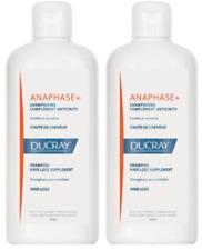 2 x Ducray Anaphase+ Anti-Hair Loss Shampoo  400ml  Free Shipping