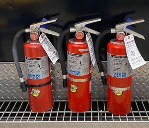 FIRE EXTINGUISHER Refurbished 5lb ABC (Scratch & Dent) SET of 3