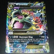 Mega M Tyranitar EX 43/98 XY Ancient Origins HOLO Rare Pokemon Card NEAR MINT