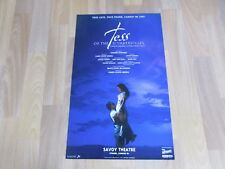 TESS of the D'URBERVILLES Musical Adaptation Original SAVOY Theatre Poster