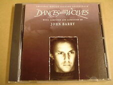 SOUNDTRACK CD / JOHN BARRY - DANCES WITH WOLVES