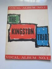 KINGSTON TRIO Songbook 1961