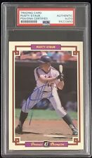 Rusty Staub Signed 1984 Donruss Grand Champion #28 Baseball Card Auto PSA/DNA
