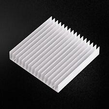 100x100x18mm Aluminum HeatSink Heat Sink Cooling Fin Fr CPU IC LED Power Durable