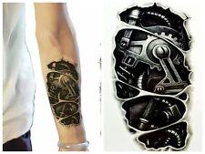 Einmal-Tattoo Temporary Tattoo  wasserdicht 70*140mm  Neu