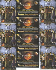 10 Serenity Firefly Movie Promo Trading Cards 2005 Inkworks # Sp-1 Mint