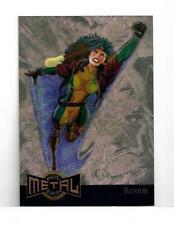 Marvel Metal 1995 GOLD Blaster card 10 Rogue