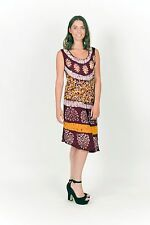 Free Size Printed Summer Comfortable Trendy Chic Dress with asymmetric hem