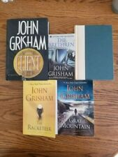 LOT 7 JOHN GRISHAMBOOKS, 2 H/C, (One 1st Edition), 5 P/B, Good Condition