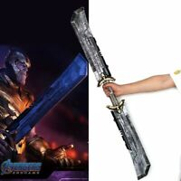 US Avengers 4 Endgame Thanos Weapon Double-Edged Sword Cosplay Costume Arms Prop