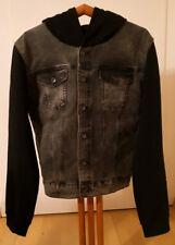 Herren Jeansjacke H&M DIVIDED grau schwarz Gr. XL