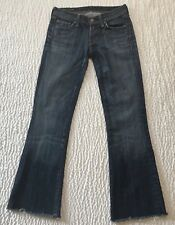 Citizens of Humanity Women's Size 24 Ingrid Stretch Jeans Denim Distressed Low