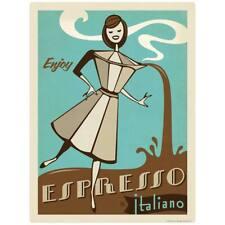 Espresso Italiano Coffee Decal Peel and Stick Decor