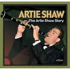 Artie Shaw : The Artie Shaw Story [97 titres] - 4 CD + Livret 52 pages