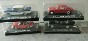 Lot 4 voitures miniatures solido 1/43eme en boite