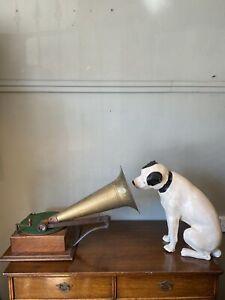 Gramophone & Typewriter Ltd Model 4 With Original Nipper Advertising Dog
