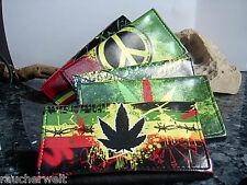 Tabakbeutel Tabaktasche - etui - Drehertasche  @ mit Hanf Cannabis Blatt Motiv